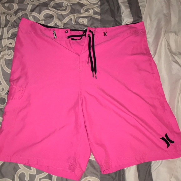 169dc230686e8 Hurley Other - Hot pink Hurley swim trunks